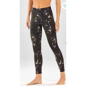High-Waisted Printed PowerHold Legging Size XS